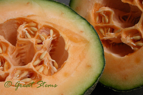 Goodbye Cantaloupe Thing Great Stems Pour over orange layer in mold. great stems