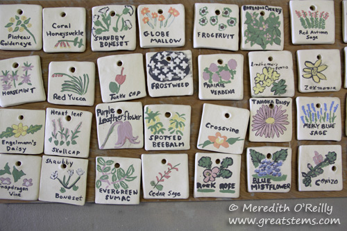 Making Ceramic Plant Markers Great Stems